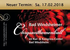 Flyer Chrysanthemenball 2018